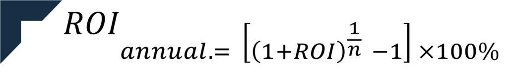 formula roi annualizzato